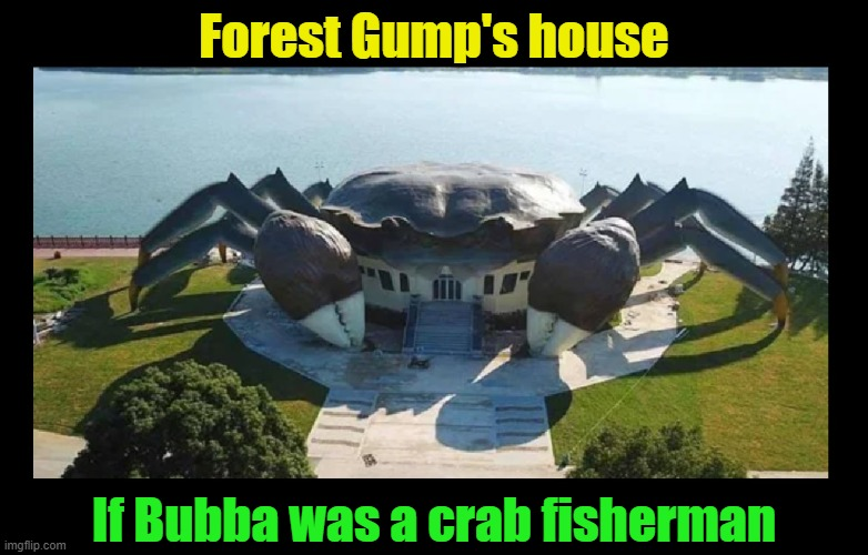 "Somebody say, ""CRAB-u-louuuuus!!""  LOL 