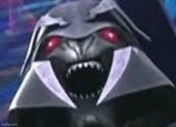 Tfp Lord Megatron derp face Template | image tagged in megatron,transformers,prime | made w/ Imgflip meme maker