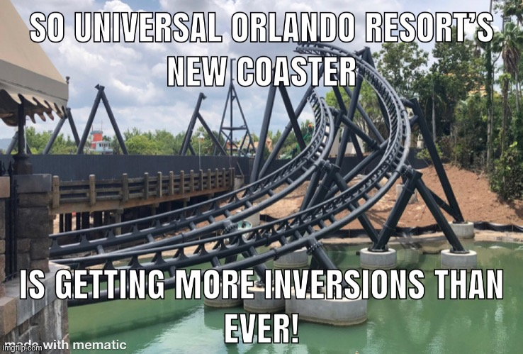 Velocicoaster at the UOR | image tagged in universal studios,orlando,roller coaster,memes,florida,theme park | made w/ Imgflip meme maker