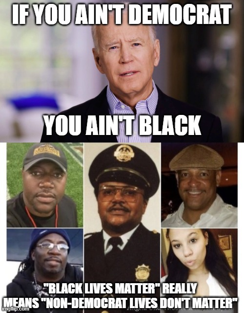"People who mindlessly repeat ""black lives matter"" are insincere. Here's their true agenda. 