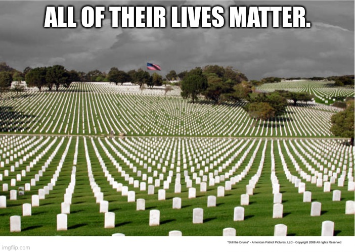 Black Lives Matter |  ALL OF THEIR LIVES MATTER. | image tagged in black lives matter | made w/ Imgflip meme maker