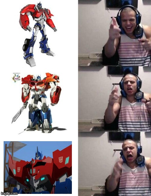 TFP | image tagged in transformers,optimus prime | made w/ Imgflip meme maker