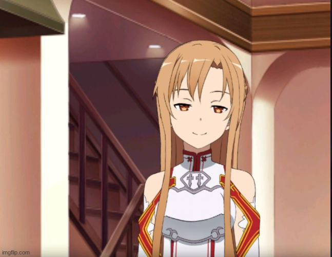 Asuna | image tagged in asuna | made w/ Imgflip meme maker