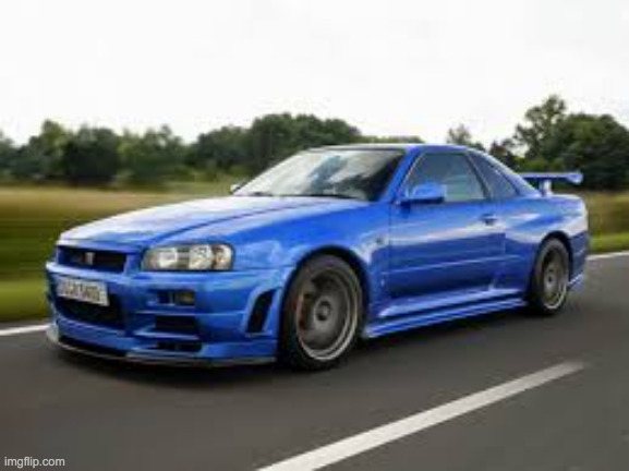 r34 boi | image tagged in skyline,japan,cool,godzilla | made w/ Imgflip meme maker