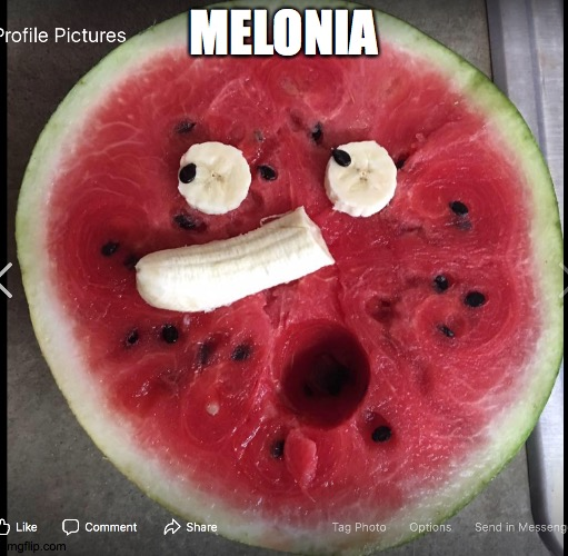 Melonia |  MELONIA | image tagged in watermelon surprise,oh my | made w/ Imgflip meme maker