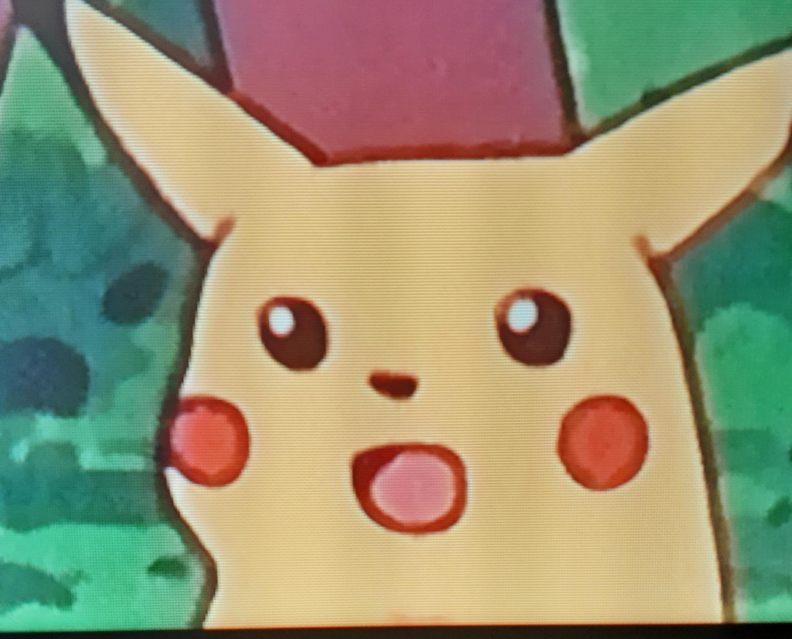 Pikachu suprise Blank Template - Imgflip
