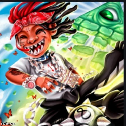 R A P S T R E A M A Love Letter To You 3 Album Cover Trippie Redd Memes Gifs Imgflip