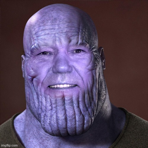 kewlew as Thanos | image tagged in thanos,kewlew | made w/ Imgflip meme maker