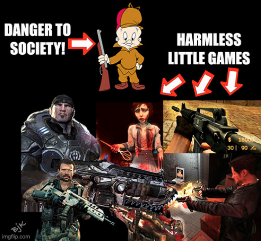 Lunacy Toons | image tagged in elmer fudd,guns,rifles,censorship,weapons,firearms | made w/ Imgflip meme maker