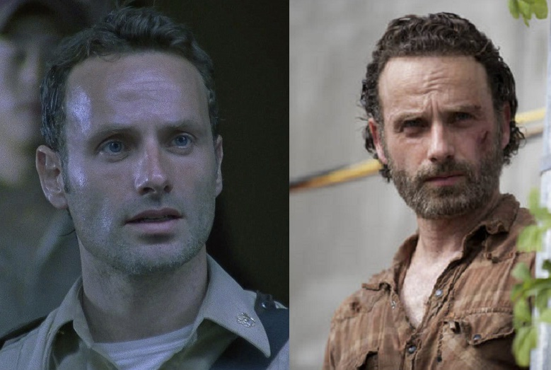 rick grimes before and after Blank Template - Imgflip