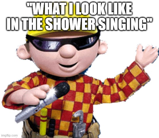 Singing in the shower |  ''WHAT I LOOK LIKE IN THE SHOWER SINGING'' | image tagged in shower,singing,funny | made w/ Imgflip meme maker