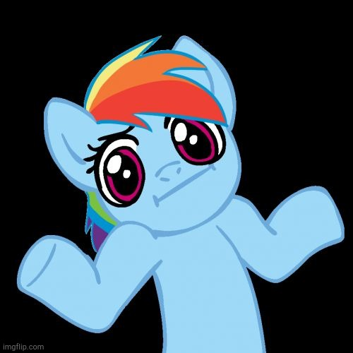 Pony Shrugs Meme | image tagged in memes,pony shrugs | made w/ Imgflip meme maker
