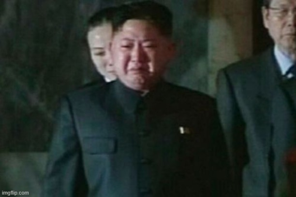 Kim Jong Un Sad Meme | image tagged in memes,kim jong un sad | made w/ Imgflip meme maker