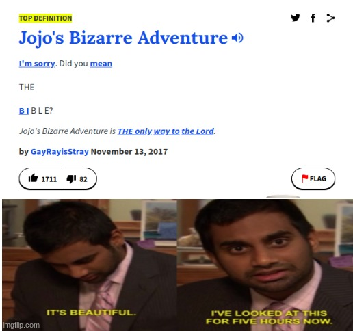 totally true | image tagged in jojo's bizarre adventure,funny,memes | made w/ Imgflip meme maker