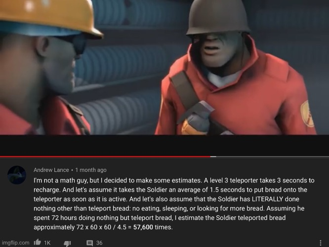 Bread | image tagged in tf2 | made w/ Imgflip meme maker
