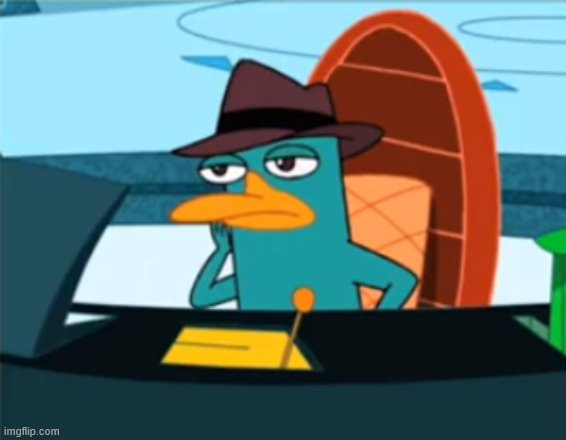 Perry the Platypus - Just No | image tagged in perry the platypus - just no | made w/ Imgflip meme maker