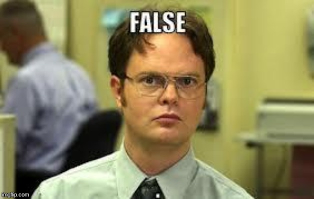 dwight false | image tagged in dwight false | made w/ Imgflip meme maker