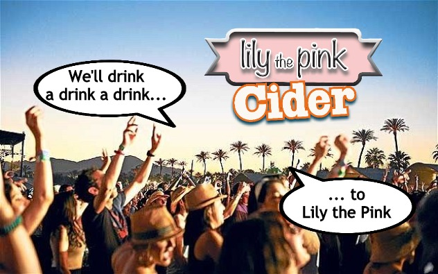 Festival  |  We'll drink a drink a drink... ... to Lily the Pink | image tagged in festival,drink,drinking,dancing,partying,song | made w/ Imgflip meme maker