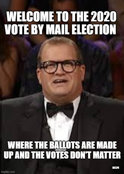"""Only in Cali…""""please do not disinfect or microwave your mail in ballots…."""" (foxnews.com)"""