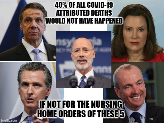 Without Democrat governors, COVID-19 deaths would be less than last year's  flu season. - Imgflip