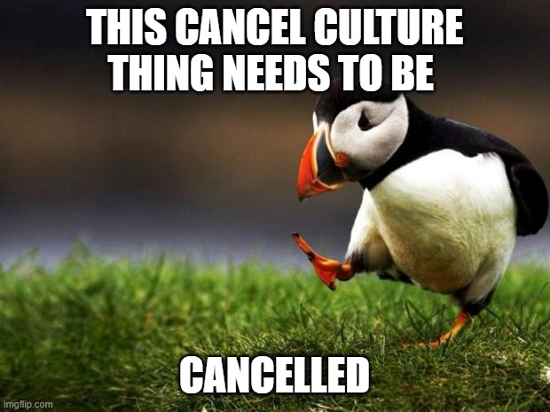 "you can't dispose something that you find ""offensive"" 