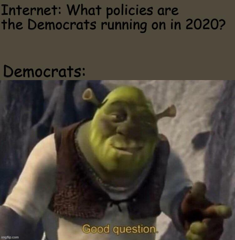 Shrek Good Question Imgflip