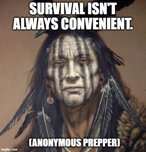 It's just a mask. |  SURVIVAL ISN'T ALWAYS CONVENIENT. (ANONYMOUS PREPPER) | image tagged in corona virus,mask,prepper | made w/ Imgflip meme maker