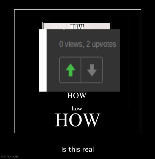 HOW | image tagged in funny,how,what is this,impossible | made w/ Imgflip meme maker