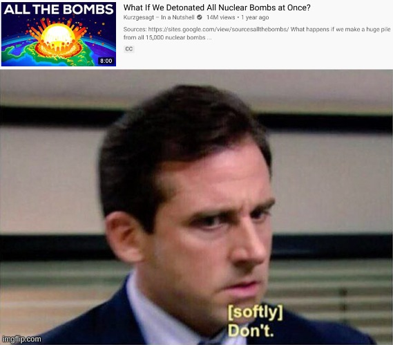 2020, no! | image tagged in michael scott don't softly | made w/ Imgflip meme maker