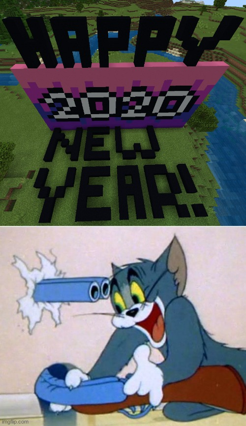 backfired. | image tagged in tom and jerry,2020,boom goes the world | made w/ Imgflip meme maker