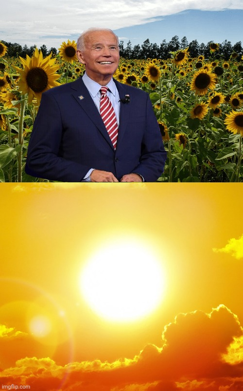 Biden's Mama never Stopped him from Staring at the Sun | image tagged in joe biden,biden,sun,political meme,the insane left,democrat party | made w/ Imgflip meme maker