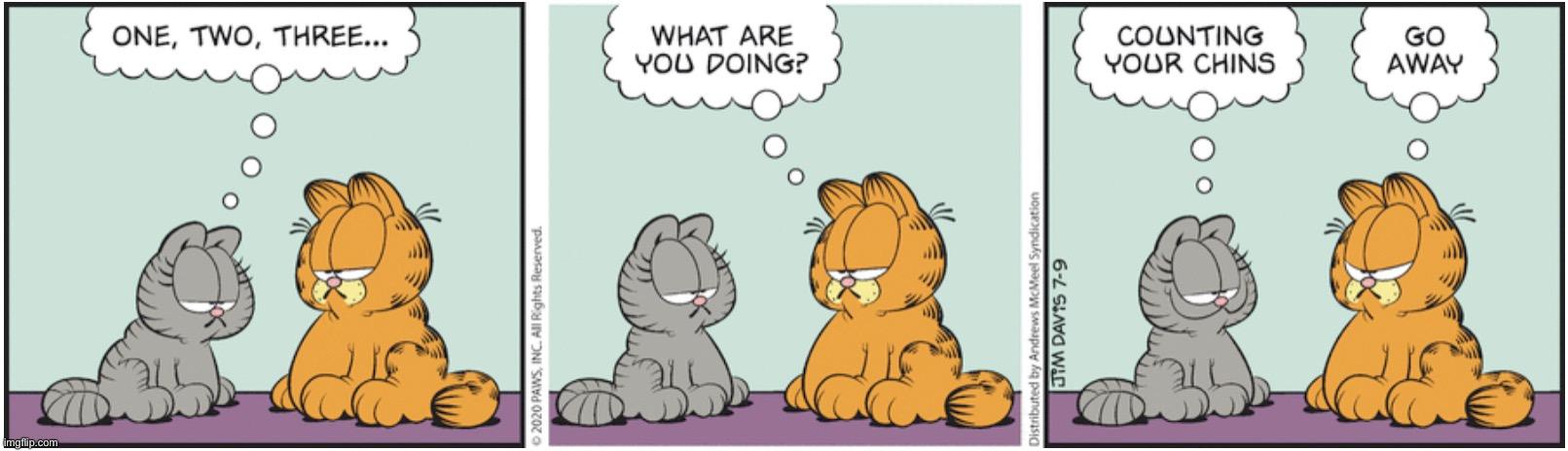 Garfield Nermal Memes Gifs Imgflip