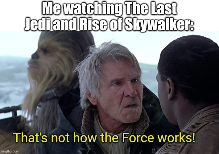 "Also me: goes back and watches the original theatrical trilogy: ""Ah, much better!"" 