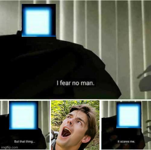 matpat is more scary FNA | image tagged in i fear no man,but matpat,it scarsme | made w/ Imgflip meme maker