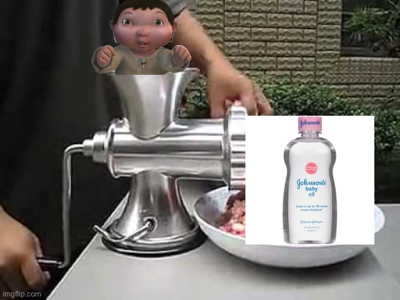 Meat grinder | image tagged in meat grinder | made w/ Imgflip meme maker