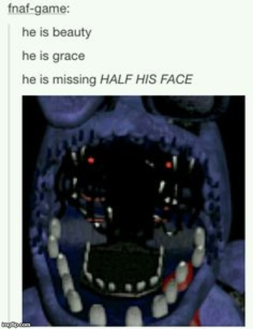 image tagged in bonnie,fnaf_bonnie,fnaf | made w/ Imgflip meme maker