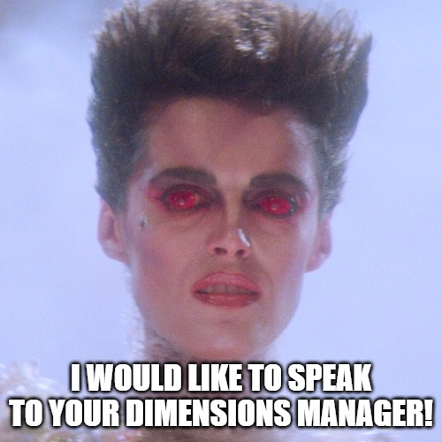 Gozer Manager |  I WOULD LIKE TO SPEAK TO YOUR DIMENSIONS MANAGER! | image tagged in ghostbusters,karen | made w/ Imgflip meme maker