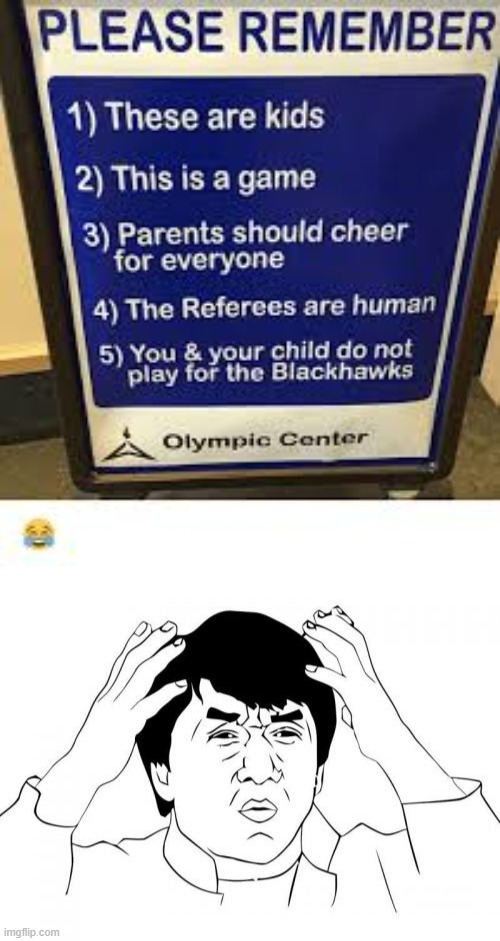 What? | image tagged in memes,jackie chan wtf,sports,funny,stupid signs | made w/ Imgflip meme maker