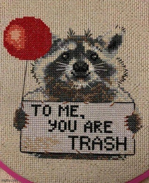 you are trash | image tagged in you are trash | made w/ Imgflip meme maker
