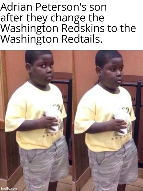 image tagged in terio,adrian peterson,redskins,redtails,washington redskins,nfl | made w/ Imgflip meme maker