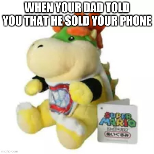 you did what |  WHEN YOUR DAD TOLD YOU THAT HE SOLD YOUR PHONE | image tagged in sigh | made w/ Imgflip meme maker