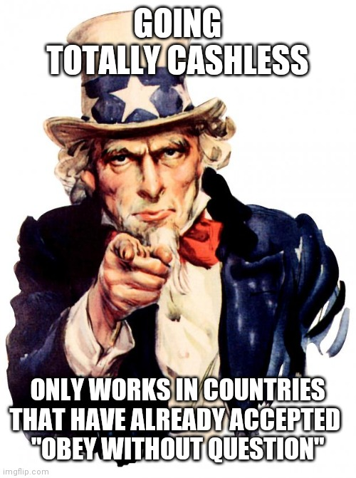 "Home invasion becomes the new mugging... |  GOING TOTALLY CASHLESS; ONLY WORKS IN COUNTRIES THAT HAVE ALREADY ACCEPTED  ""OBEY WITHOUT QUESTION"" 