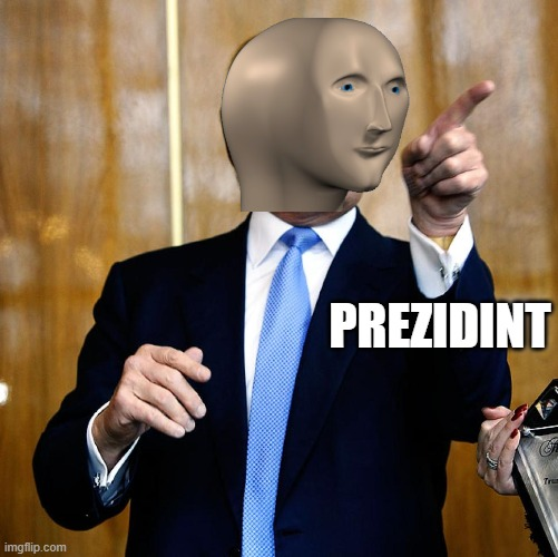 Prezidint stonks |  PREZIDINT | image tagged in donal trump birthday | made w/ Imgflip meme maker