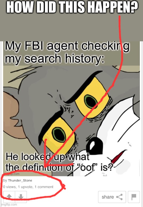 lol |  HOW DID THIS HAPPEN? | image tagged in fbi,memes,glitch | made w/ Imgflip meme maker
