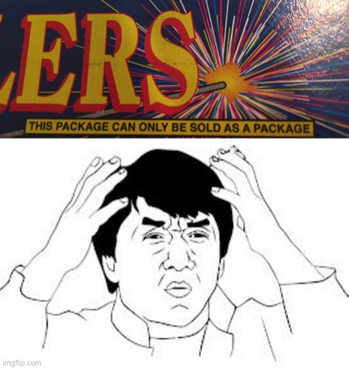 Sparkler package | image tagged in mind blown,sparklers,memes,jackie chan mind blown | made w/ Imgflip meme maker