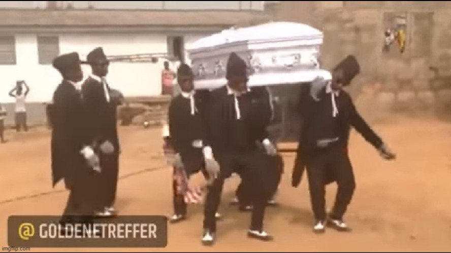 Coffin dance meme | image tagged in coffin dance meme | made w/ Imgflip meme maker
