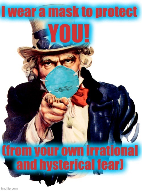 image tagged in mask,uncle sam | made w/ Imgflip meme maker