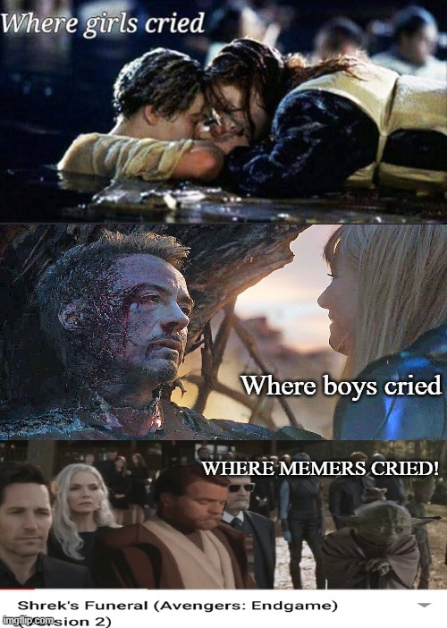 Where girls cried |  Where boys cried; WHERE MEMERS CRIED! | image tagged in where girls cried | made w/ Imgflip meme maker