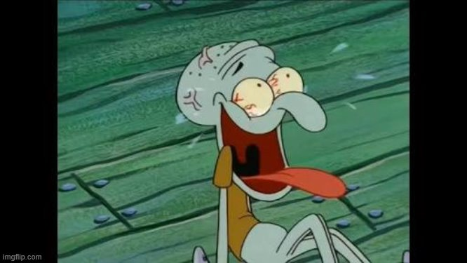 Squidward laugh | image tagged in squidward laugh | made w/ Imgflip meme maker