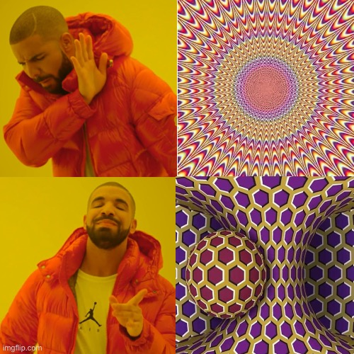 Don't stare too long at this | image tagged in memes,optical illusion | made w/ Imgflip meme maker